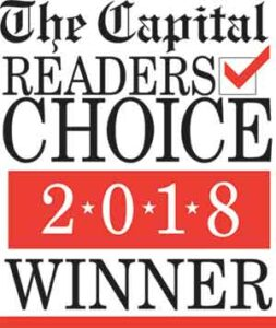 The Capital Readers Choice Winner 2018